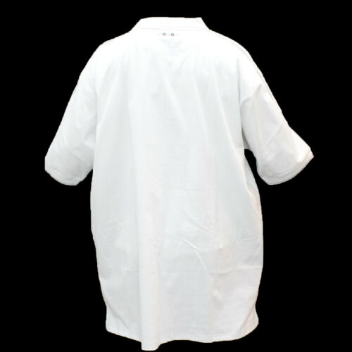 NEW MEN AUTHENCTIC COOGI WHITE GREY COLOR POLO SHIRTS 4XL /& 5XL C487102XX