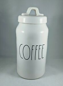 Rae-Dunn-Large-LL-Coffee-Canister-By-Magenta-HTF-NWT