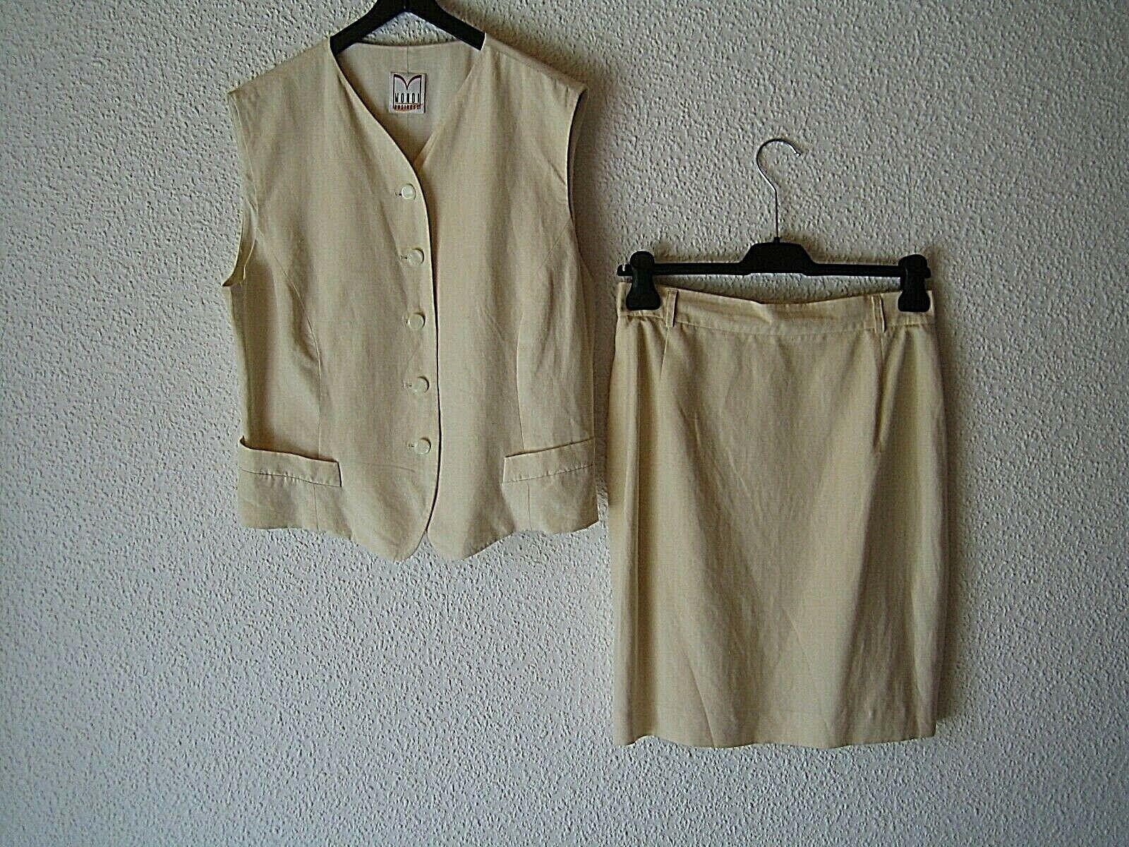 2 pieces: Mini-Skirt and Waistcoat BY 'MONDI Business