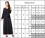 Muslim-Kaftan-Abaya-Islamic-Women-Long-Sleeve-Cocktail-Maxi-Vintage-Dress-Black thumbnail 3