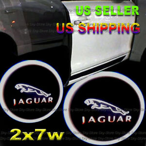 2x 7w Ghost Shadow Projector Laser Logo LED Lights Courtesy for GMC