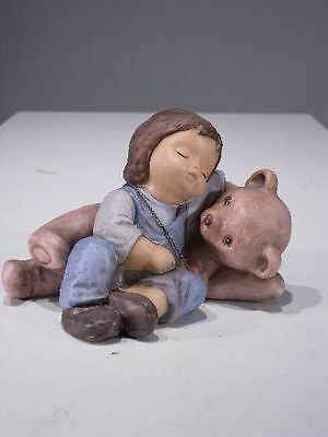 +# A001816_01 Goebel Archiv Muster Nina & Marco, Mit Teddy Bubu 10-800 Plombe