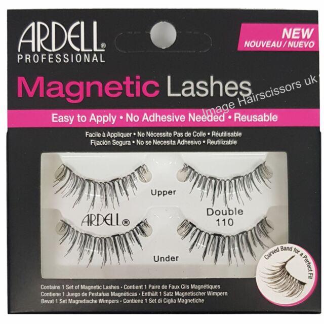 51b9ffd7387 Ardell MAGNETIC False Eye Lashes DOUBLE 110 BLACK Eyelash Reusable No  Adhesive