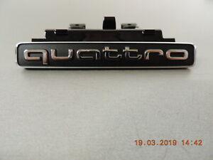 Original-Audi-Q5-Emblem-Schriftzug-Quattro-Zeichen-fuer-Kuehlergrill-8R0853736E