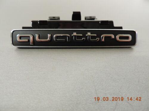 Audi originales q5 Emblem letras cheers Quattro caracteres para kuehlergrill 8r0853736e