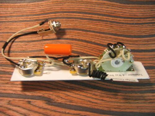 Oak 4-Way 4-Way Mod: CTS .047uf Orange Drop Wiring Harness for Telecaster