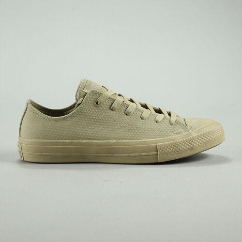 nero ginnastica Uk da Converse 9 vintage Ct 6 As 8 Size scarpe pelle 7 Box Ii Khaki New In 10 buoi vintage di in Khaki ZvwzqHpZ