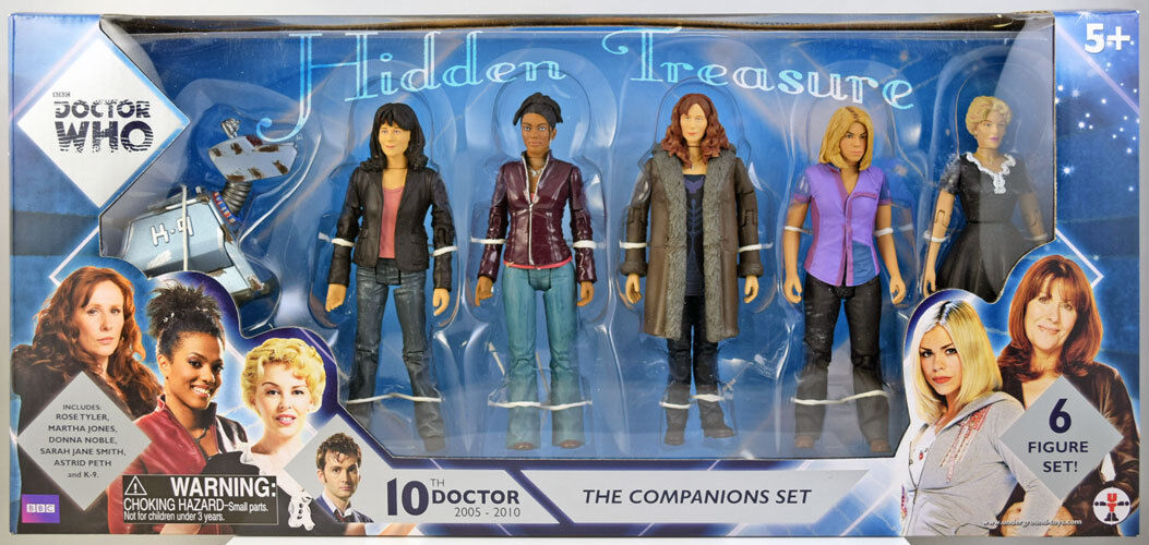 Doctor Who 10th Doctor - COMPANION SET - 6 Action Figure Set