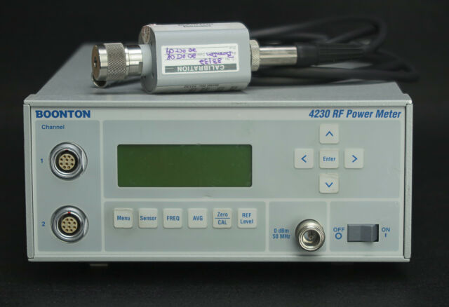 Boonton 4230 Dual Channel Power Meter with 51071 Sensor .01-26.5 GHz -70 +20dBm