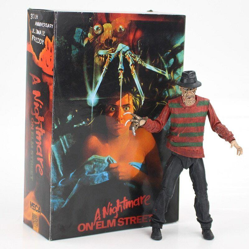 Freddy Krueger action figure model toy Nightmare on Elm street figurine 18 cm