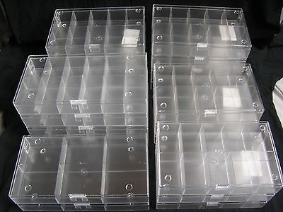 20 Stück Ü-Eier Setzkästen - Sammelboxen, 14 x 10er + 4 x 12er + 2 x 6er transp.
