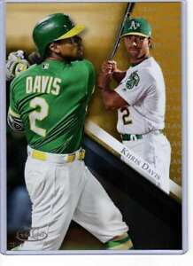 Khris-Davis-2019-Topps-Gold-Label-Class-One-5x7-Gold-48-10-Athletics