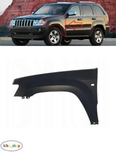 Per JEEP GRAND CHEROKEE WH 2005-2010 FRONT Wing Fender Sinistro N//S con foro