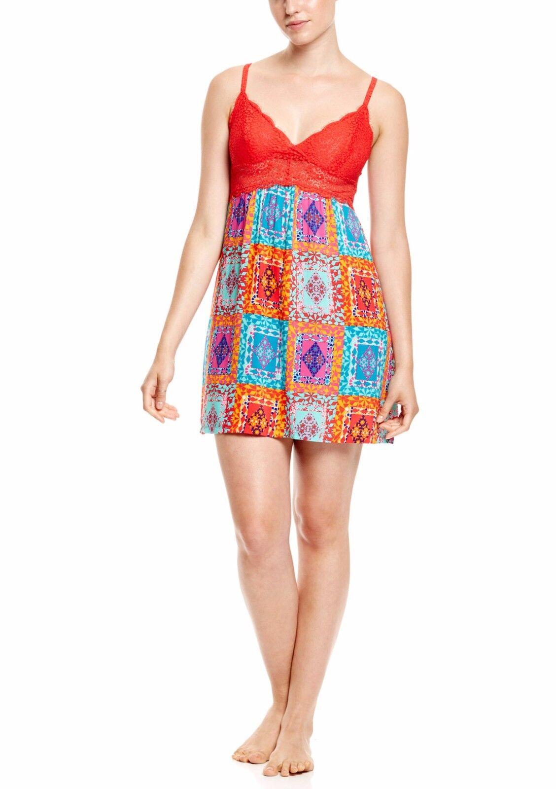 JOSIE BY NATORI Avventura  US Women Size XL In Multi NWT