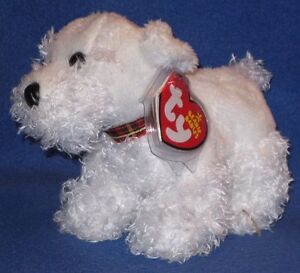 TY FARLEY the DOG BEANIE BABY - NEAR MINT with MINT TAGS - PLEASE READ