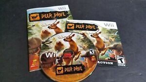 Deer-Drive-Nintendo-Wii-Game-COMPLETE-w-Manual-Hunting-Game-Works-w-Zapper