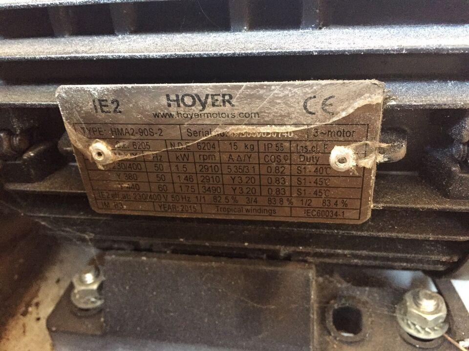 Blæser komplet m motor