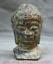 7-2-034-Bronze-Ware-Tibet-Bouddhisme-Shakyamuni-Amitabha-Bouddha-Tete-Buste-Statue miniature 1