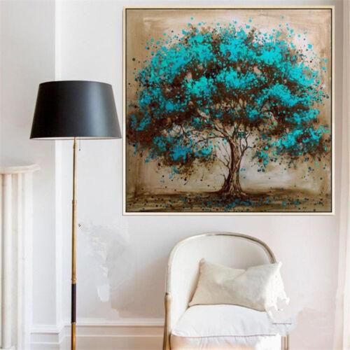 VV044 dipinto a mano moderno astratto dipinto ad olio vegetale ALBERO NO FRAME 24in