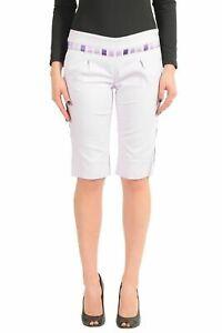 Just-Cavalli-Purple-Women-039-s-Casual-Shorts-US-s-IT-40