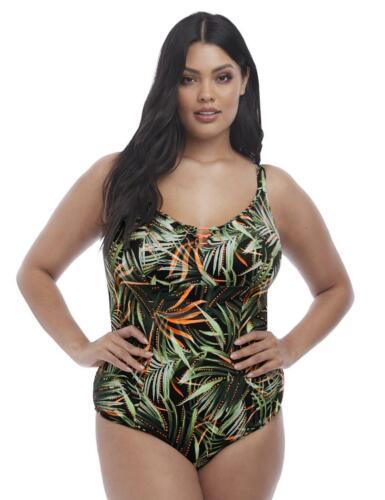 Elomi Amazonia moulé maillot de bain 7160 Nouveau Natation Costume kaki imprimé maillots de bain