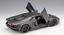 Welly 1:18 Lamborghini Aventador LP700-4 Racing Diecast Model Car Matte Black