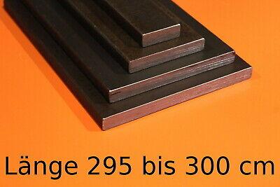 20 x 10 mm Flachstahl Bandstahl Flacheisen Stahl Eisen Länge 1000mm 100-cm