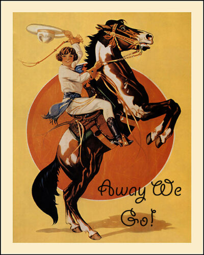 Vintage Cowgirl Print /'Sisters on the Fly/' Decor  forTravel Trailer Canned Ham