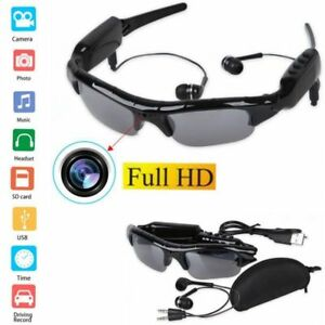 Spy Sunglasses HD Hidden DVR Camera Video Recorder Audio Mp3 Player ... c281349c2e