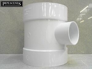 """1 1//2/"""" Grey Waste to Soil Adapter Boss Pipe 110mm to 40mm"""