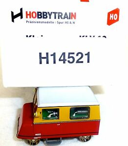 KLV-12-crema-rojo-Coche-pequeno-DB-EpV-Hobbytrain-H-14521-DCC-H0-1-87-LG2