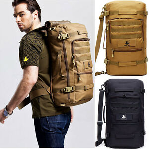 Waterproof Outdoor Sports Backpack Bag Camping Travel Bag Military ...