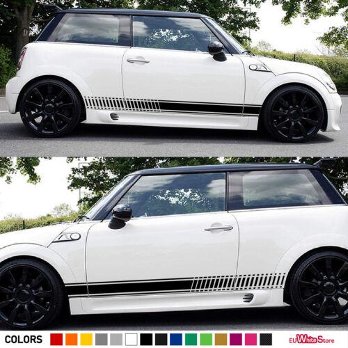 Sticker Decal Vinyl Side Stripe Kit For Mini Cooper S Sport Light LED Front Tail