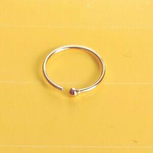 Orecchino-labbro-anello-al-naso-in-puro-750-oro-mare-intimo-Body-Piercing-Nose-Stud-Helix-8-mm