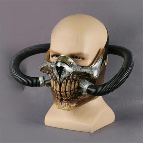 Movie Mad Max 4 Fury Road Immortan Joe Mask Halloween Cosplay Gas Mask Prop HOT