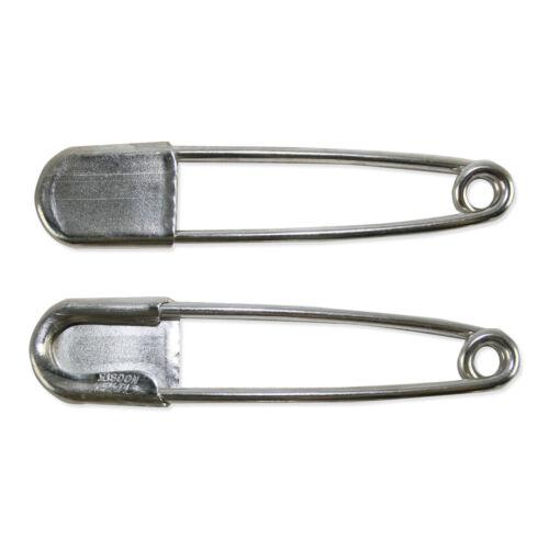 "Horse Blanket Kilt Lot of 2 RISDON KEY-TAG SAFETY PIN 5/"" LARGE Keychain"