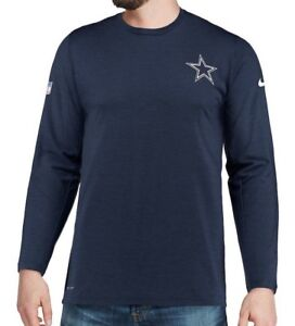 64dfe375 New Dallas Cowboys Nike NFL Football Dri-Fit Coaches On Field Shirt ...