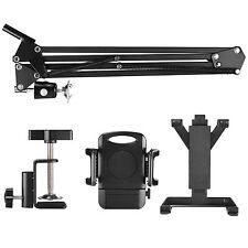 Neewer Universal Smartphone & Tablet Stand (Sturdy Metal Arm, Padded Holder, Adj