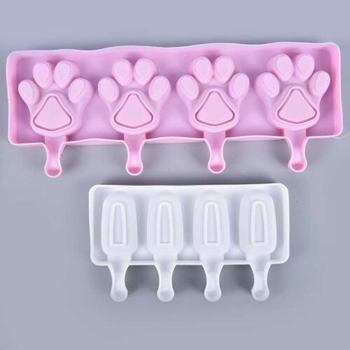 Details about  /Silicone Frozen Ice Cream Mold Juice Popsicle Maker Ice Lolly Portable Mouldnh5