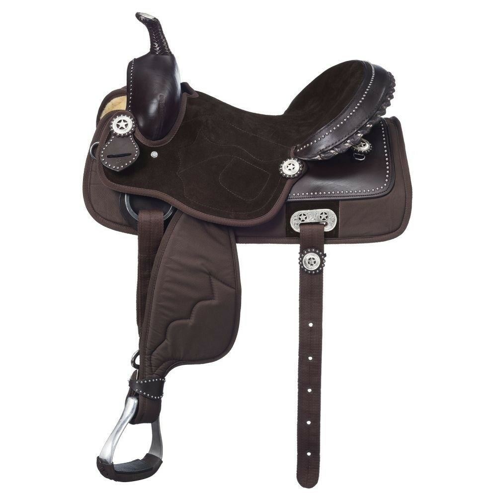 King Series Eclipse Krypton Elite Youth Western Competition Saddle