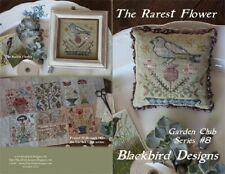 The Rarest Flower - Garden Club Series #8 - Blackbird Designs New Chart