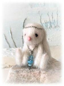 2-1-2-034-Faux-Fur-Little-Baby-Bunny-Rabbit-Teddy-Bear-OOAK-jointed-Artist-one-off