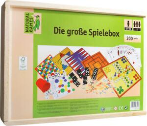 Natural-Games-Holz-Spielesammlung-200-in-1-Gesellschaftsspiele-ca-38-5x28-5x6