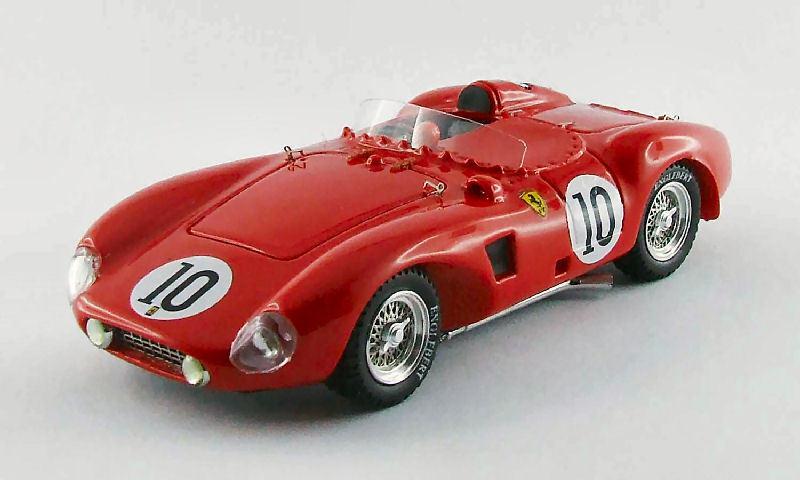 Ferrari 625 Le Mans  10 23th 1956 Simon / P. Hill 1:43 Model 0274 ART-MODEL