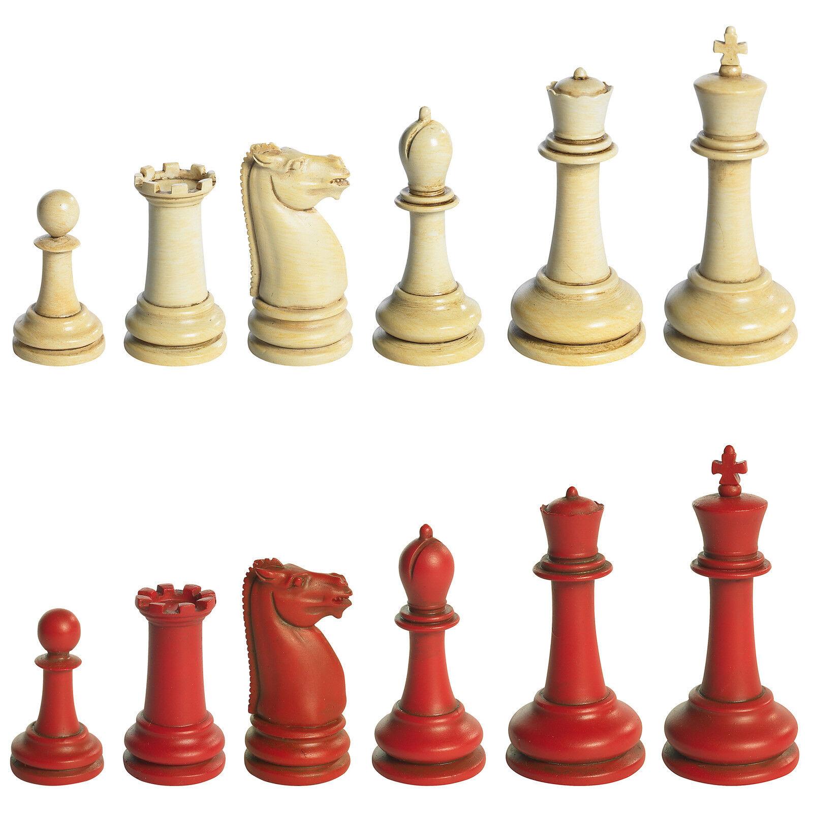 Autentico Models GR021 Classic Staunton Chess Set