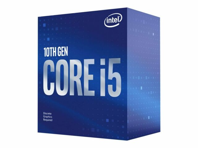Intel Core i5-10400 locked Desktop Processor - 6 cores And 12 threads - Up to