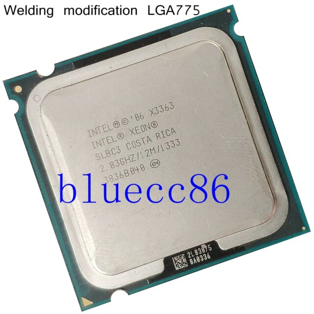 Intel Xeon X3363 2.83GHz LGA 775 SLBC3  Cach 4-Core CPU Processors similar Q9650