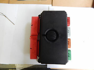 bussmann series fuse box rv semi motorhome military m image is loading bussmann series 32145 0 fuse box rv semi