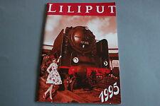 X224 LILIPUT Train catalogue Ho Hoe 1995 100 pages 29,7*21 cm Deutsch Ang