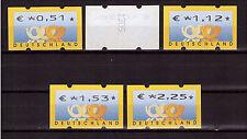 Bund, ATM 4.1 VS2 komplett, Versandstellensatz, postfrisch, mit Zählnummer (199)
